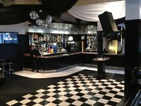 Bar/Function space Hire