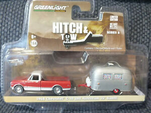 1968 CHEVROLET C-10 and AIRSTREAM BAMBI 16 FOOT TRAILER