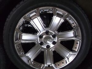 "GMC 22"" factory OEM wheels tires new  Chev,Cadillac"