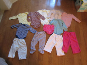 6-12M boys and girls baby clothing and outerwear