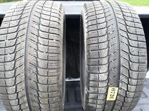 4 pneus Michelin x ice 225/40/R18 400$