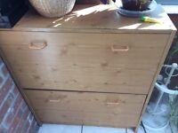 Shoe cabinet wardrobe storage