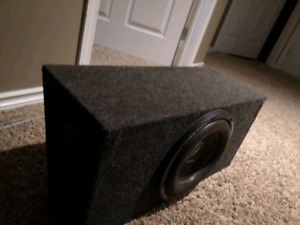 "10"" Subwoofer and box"