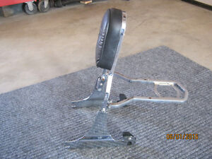 Backrest with carrier fits 1986 to 1999 softail