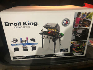 BROIL KING PORTA CHEF 320 BBQ FOR SALE