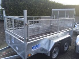 Trailer twin wheel Dale Kane trailer general purpose