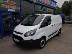 2015 FORD TRANSIT CUSTOM 290 SWB LOW ROOF ECO-TECH - UNDER FORD WARRANTY ! VAN D