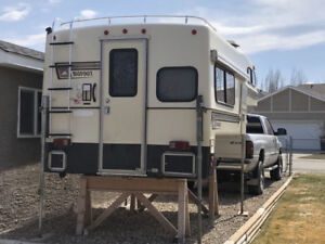 Ford F-350 Truck and Bigfoot camper for sale