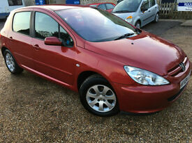 2004 '04' Peugeot 307 1.4 HDi S. Diesel. Manual. 5 Door Family. £30 TAX. Px Swap