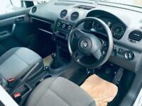 2013 Volkswagen Caddy Maxi 1.6 C20 TDI KOMBI 5 SEATER CAR/VAN CAMPER CONV?? FINA