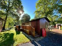 Pre owned lodge chalet holiday home for sale with decking lake district cumbria