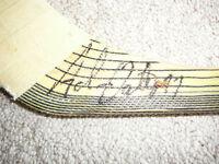 Adam Oates Game Used Autographed Hockey Stick (HOF 2012!)