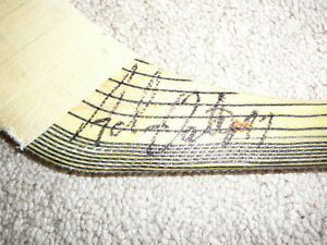Adam Oates Game Used Autographed Hockey Stick (HOF 2012!)