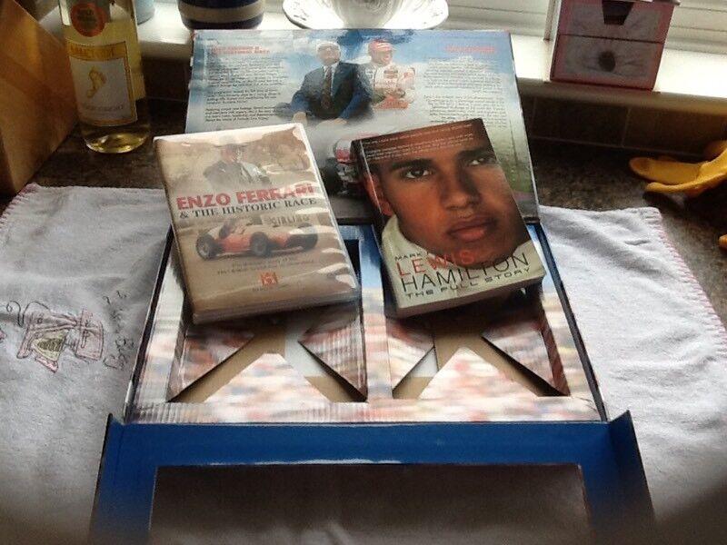 GRAND PROX BOX SET ENZO FERRARI/LEWIS HAMILTON