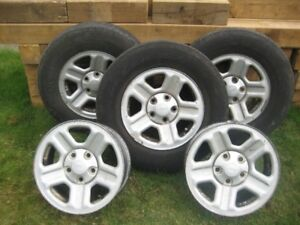 RIMS & RUBBER for JEEP XJ