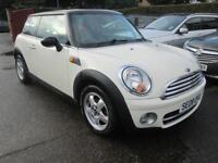 2008 Mini Cooper 1.6D 79000 mile F.S.H White