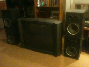 Haut-parleurs Mordaunt-Short custom-made speakers