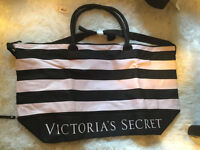 Victoria's Secret Expandable Beach Tote New with Tags