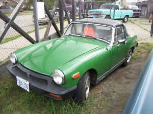 1980 MG Midget Convertible