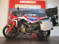 Honda CRF1000L Africa Twin Adventure Sport FREE HONDA LUGGAGE