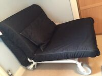 IKEA PS Lovas range single chair bed immaculate condition
