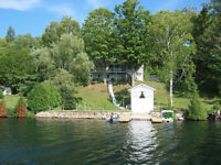Cottage for sale on beautiful lake