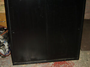 $150 · Used office steel file cabinet 38x38x18 deep with sliding