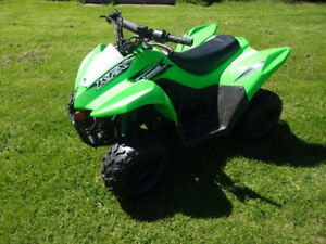 kawasaki kfx 50 kids four wheeler