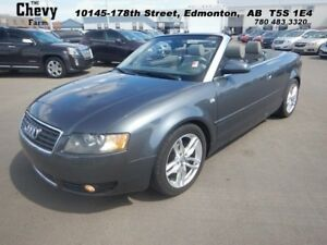 2004 Audi A4 1.8T CABRIO  Heated Leather Seats