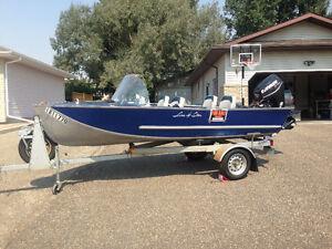 Vintage aluminum boat for sale
