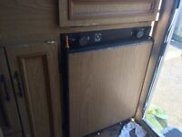 Electrolux caravan fridge runs both on gas or electricity lovely condition fully functional