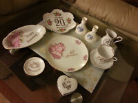 A LOT of ANNIVERSARY PORCELAIN PLATES and other ITEMS  seeling A