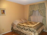 Nicely furnished room/short or long term