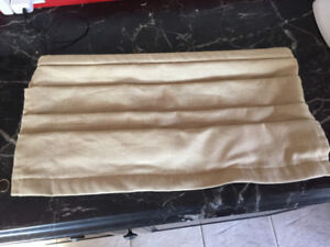 Valance and rods