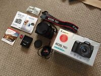 Canon 70d DSLR camera like new with 17-50mm f2.8 EX DC OS HSM lens