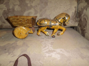 antique wind up toy