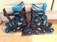No Fear Inline Roller Skates Size 10-13