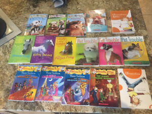 Girls Elementary Aged Book Lot