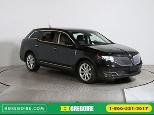 2014 Lincoln MKT EcoBoost A/C CUIR TOIT MAGS BLUETHOOT