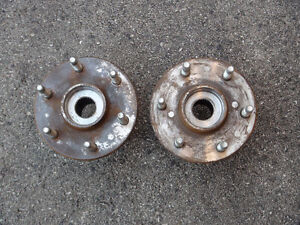 chevy or gmc 4x4 front wheel hubs
