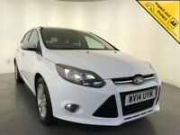 2014 FORD FOCUS TITANIUM NAVIGATOR TURBO FORD SERVICE HISTORY FINANCE P/X
