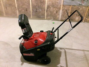 Craftsman Self propelled Snowblower in great condition
