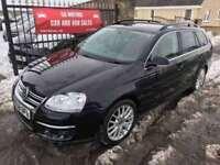 2008 (58) VW GOLF TDI SPORTLINE (140) SERVICE HISTORY, WARRANTY, NOT ASTRA FOCUS I30 V50
