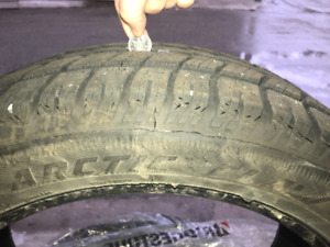 """***PRICE REDUCED***Arctic Claw Winter Tires M+S 20"""" 245/50R20"""