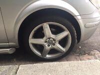 Alloy wheel AMG Mercedes Benz