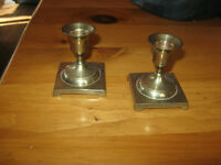CANDLE HOLDERS - BRASS - REDUCED!!!!