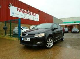 image for Volkswagen Polo 1.2 60ps 2013 Match Edition ONLY 43K SH 1 OWNER P/AID AC CD