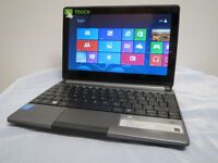 10.1 Gateway Touchscreen laptop Intel 2GB 320G Windows 8 Office