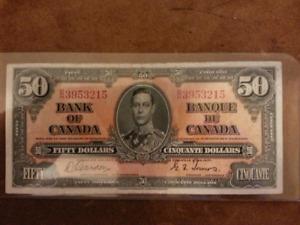 1937 - Fifty Dollar Bill
