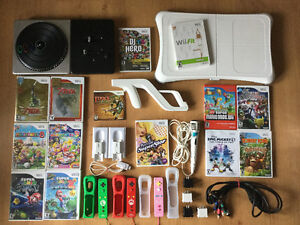 Manettes motion plus-Mario Party-Wii Fit - micro etc..